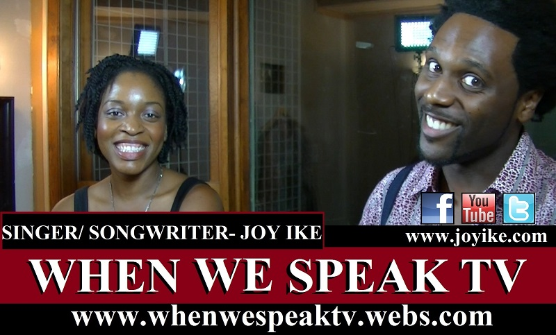 Joy Ike on When We Speak